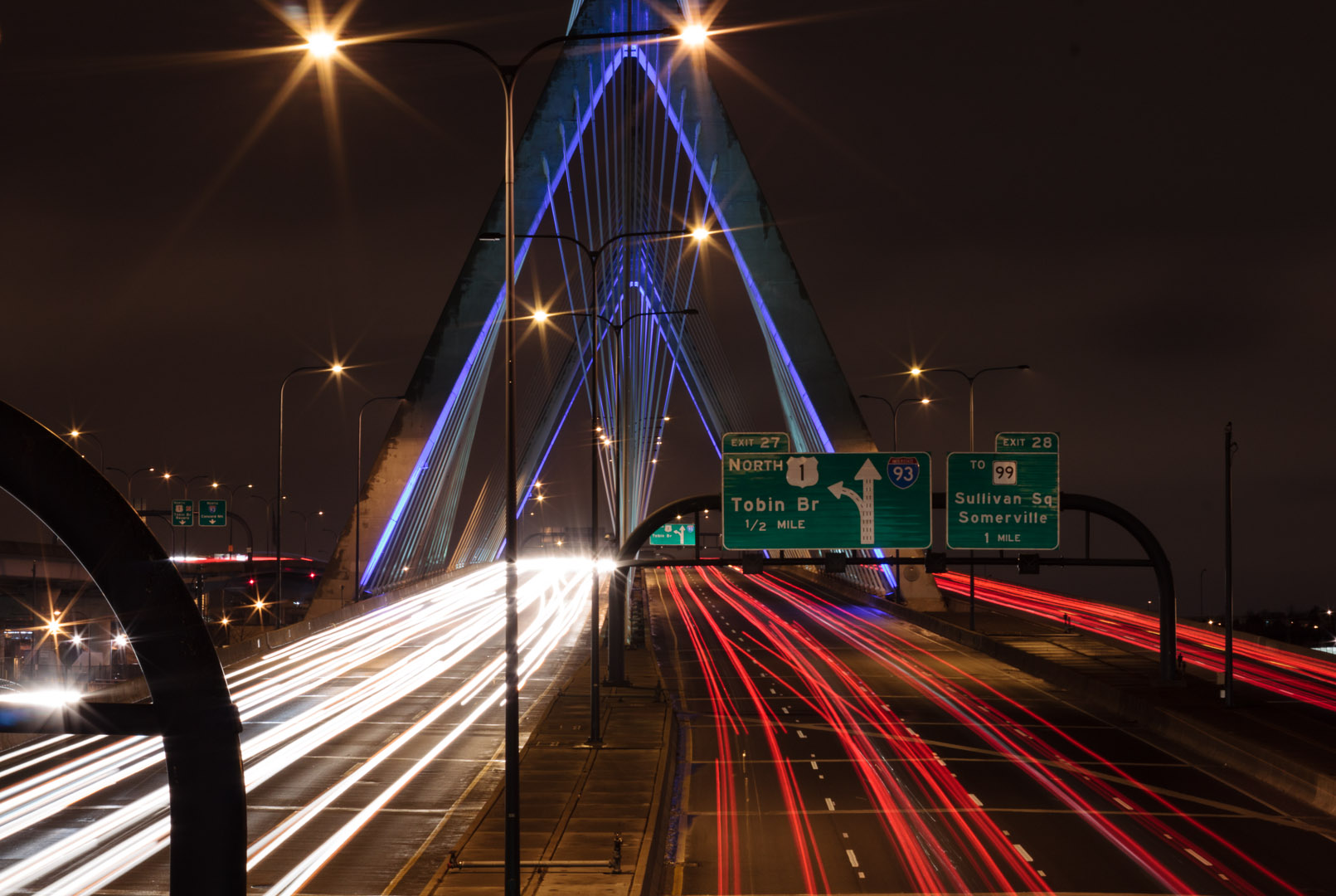 Zakim Bridge, Boston MA| Christina Minniti Photography