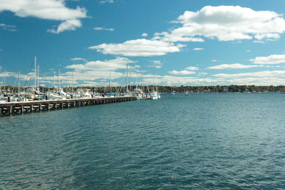 Oh did I mention the Warf? Boston Harbor has a thriving maritime community. Everything from beautiful sailboats, to yachts and even cruise ships come in and out of Boston Harbor.