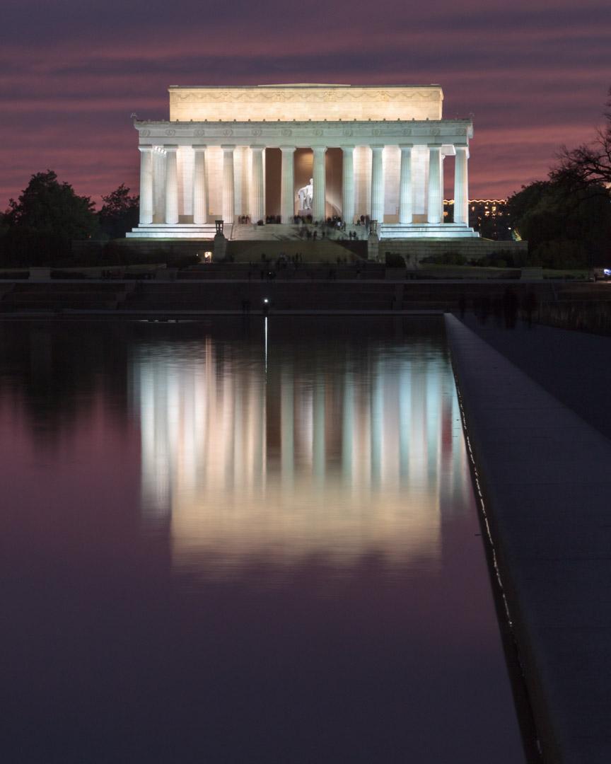 Abraham Lincoln Memorial, Washington D.C. | Christina Minniti Photography